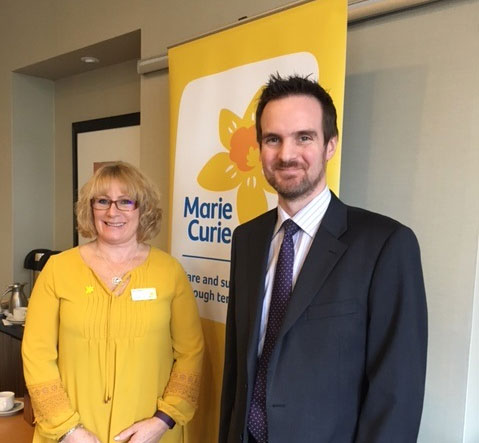 KJS proud to support Marie Curie