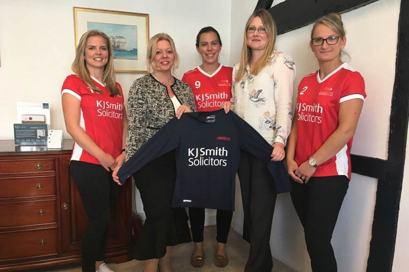 Basingstoke Hockey Club visit our office to launch new season!