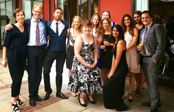 K J Smith Solicitors attend the TVLS