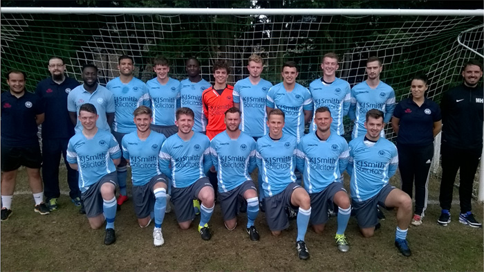Woodley United FC Cup Final