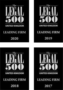 K J Smith Solicitors - Legal 500 Awards